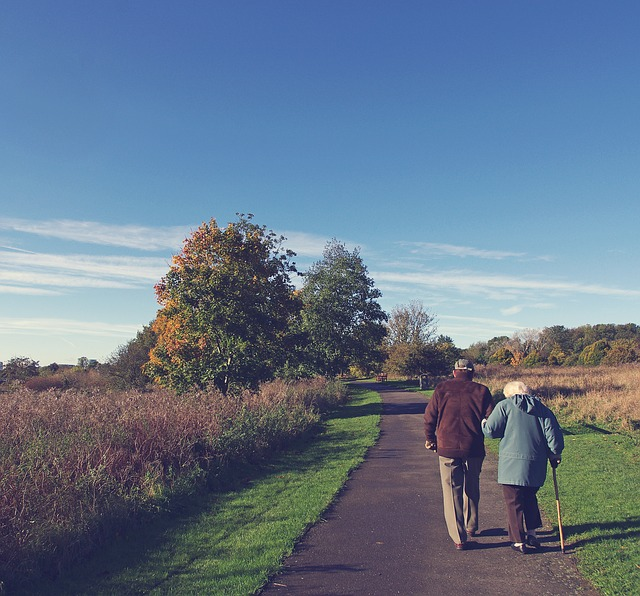 atividades idosos caminhada ar livre